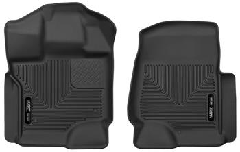 Husky liners X-act contour 2015+ Ford F-150 Supercrew front black