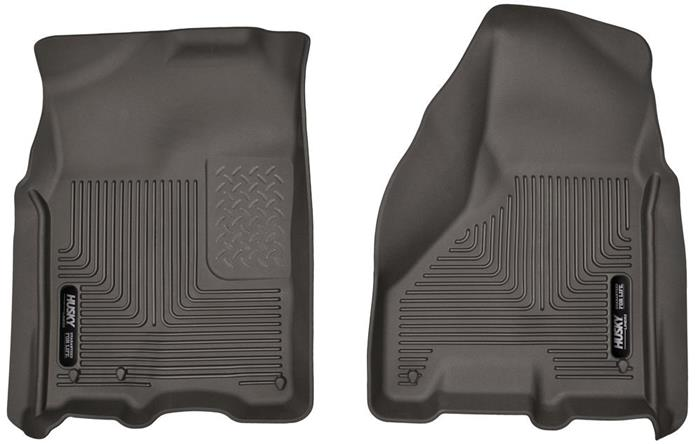 Husky liners X-act contour 09-18 Ram crew cab front Cocoa Brown