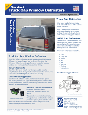 Frostfighter Hardtop rear window defroster