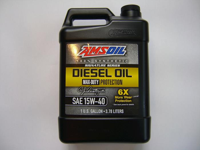 Amsoil synthetic 15W40 SS motor oil 1 Gallon
