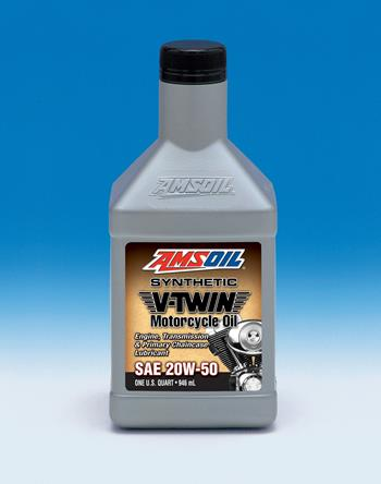 Amsoil 20W50 synthetic V-twin Motorcycle oil