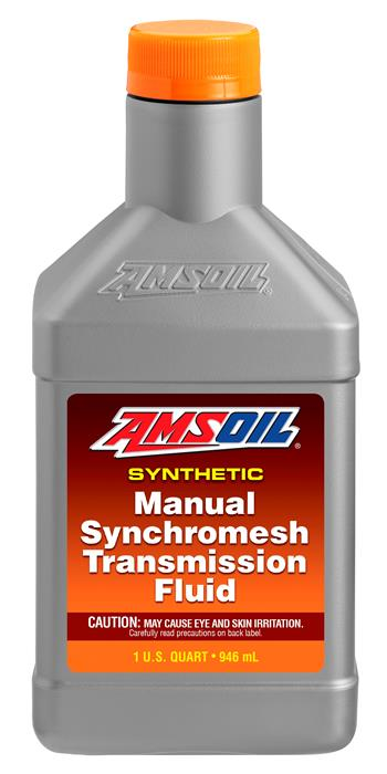 Amsoil 5W30 synthetic manual synchromesh transmission fluid