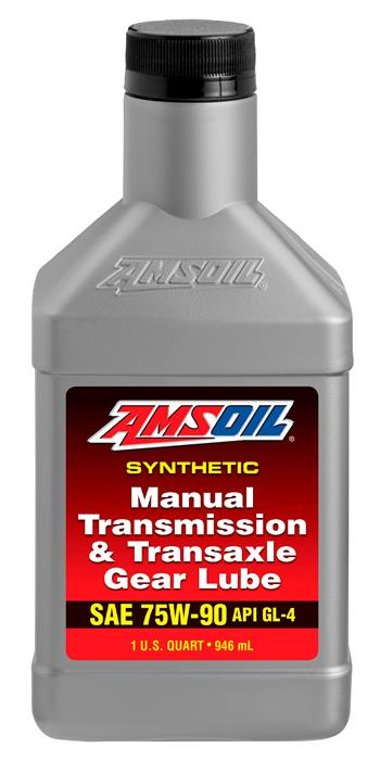 Amsoil 75W90 synthetic manual transmission and transaxle gear lube