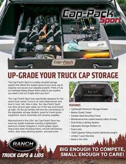 Cap pack Hardtop Storage